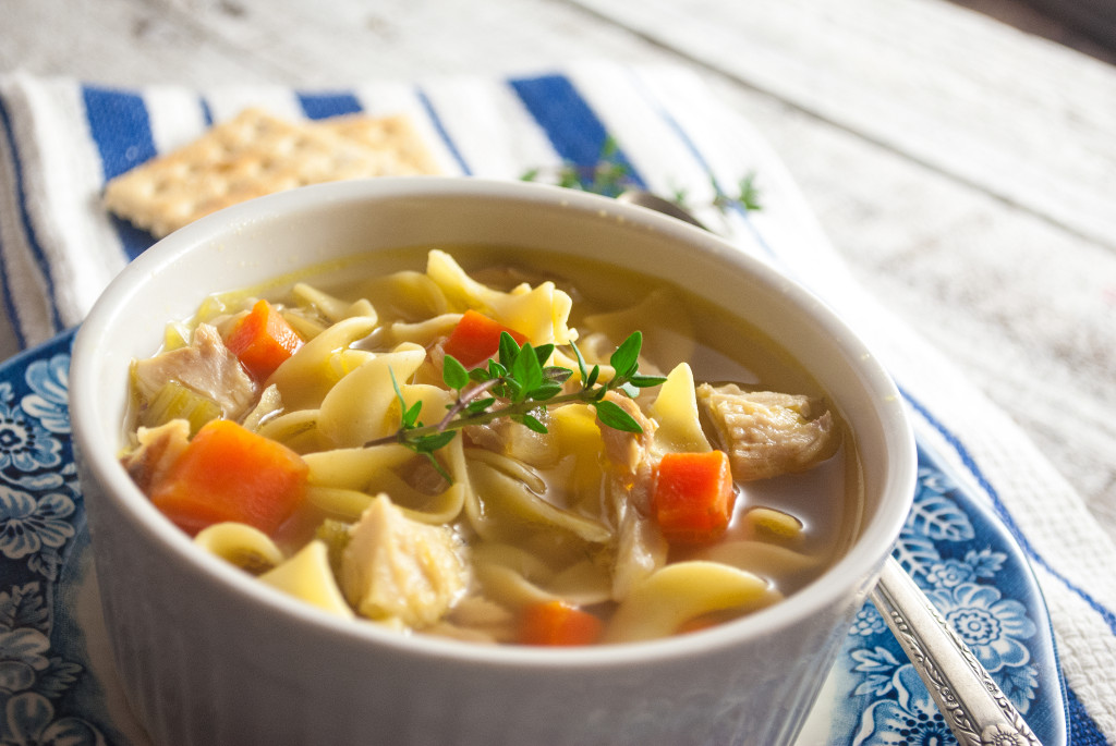Comforting Chicken Noodle Soup