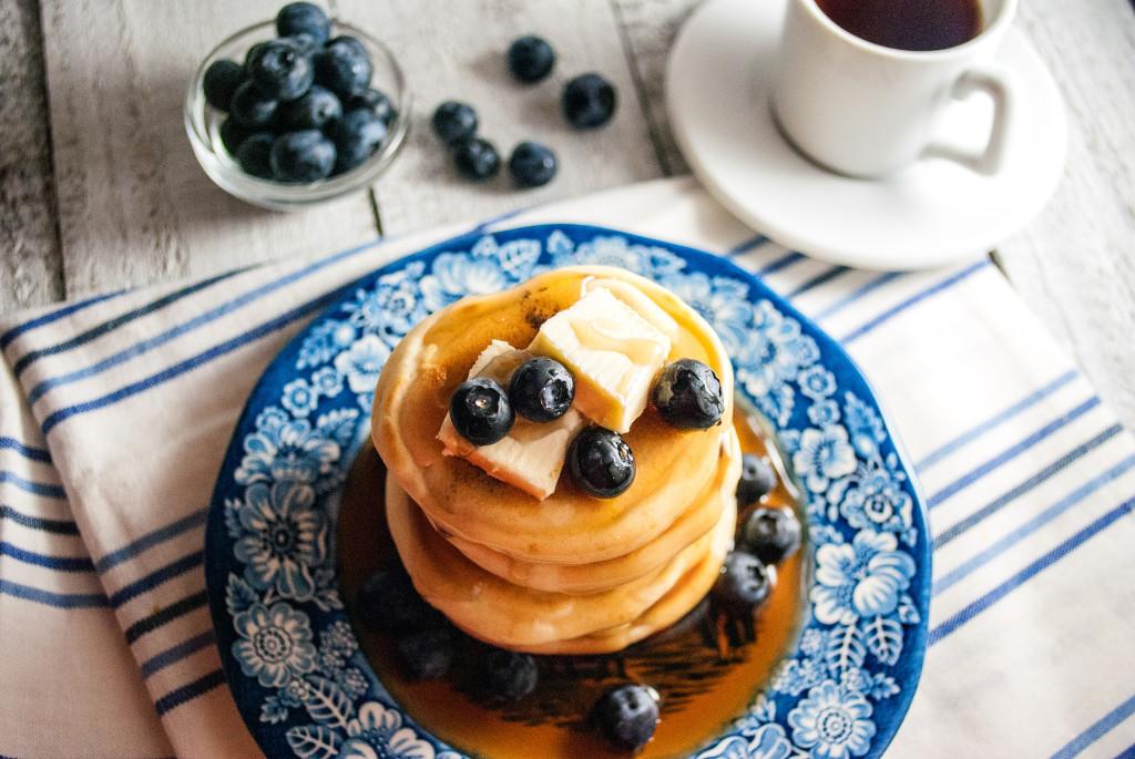Fluffy Breakfast Pancakes