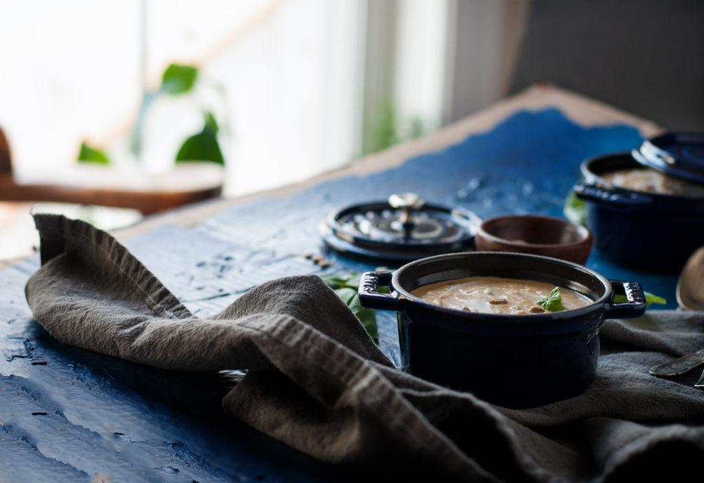 Sweet Potato Basil Soup