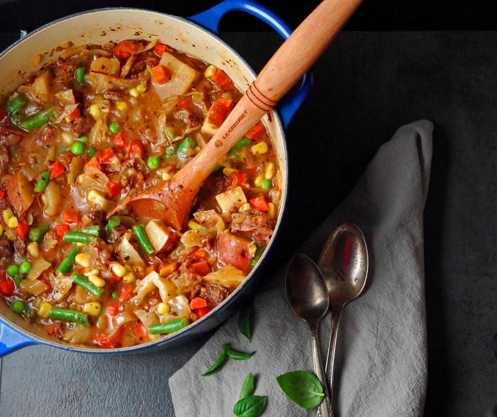 Comforting Vegetable Beef Soup