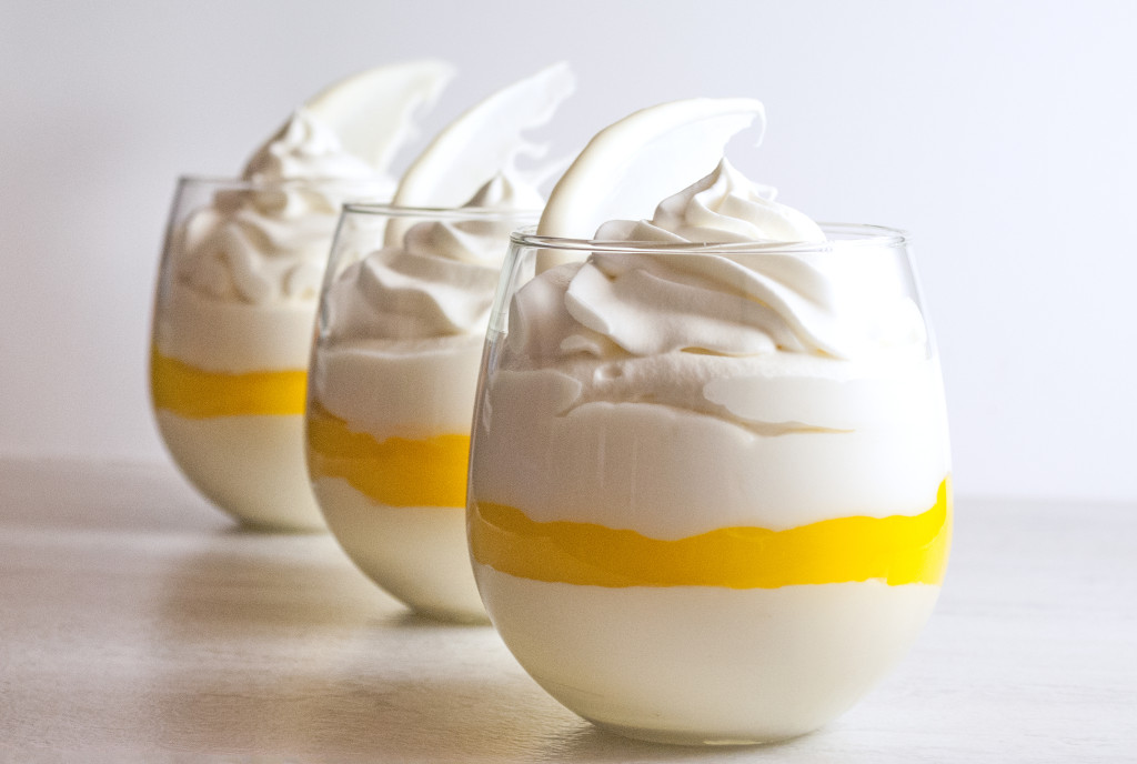 Lemon Meringue Mousse