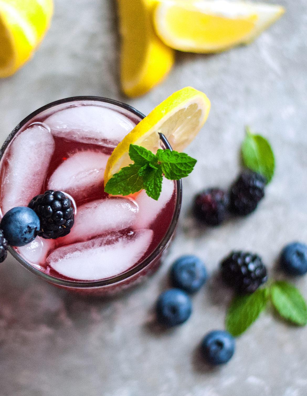 how to make blue lemonade recipe