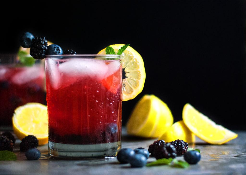Black and Blue Lemonade