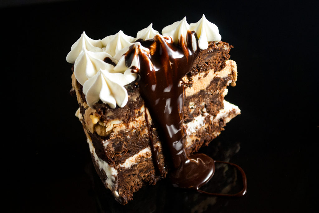 Sinful Brownie Ice Cream Cake