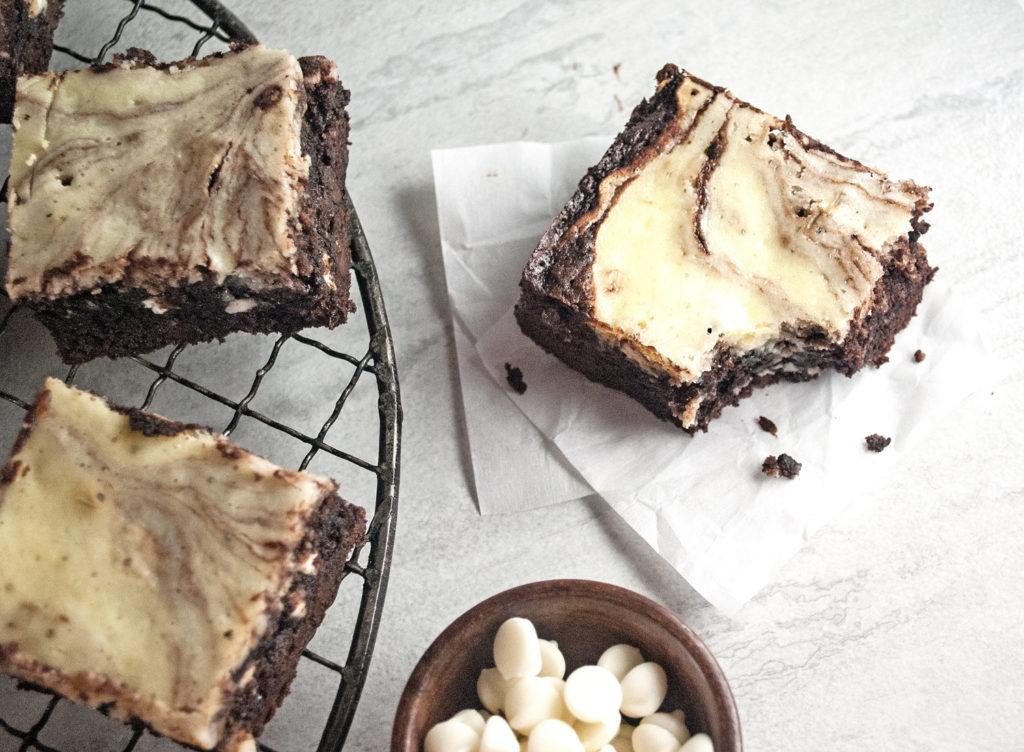 Heavenly Cream Cheese Brownies