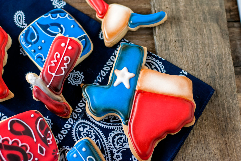 Texas Pride Sugar Cookies