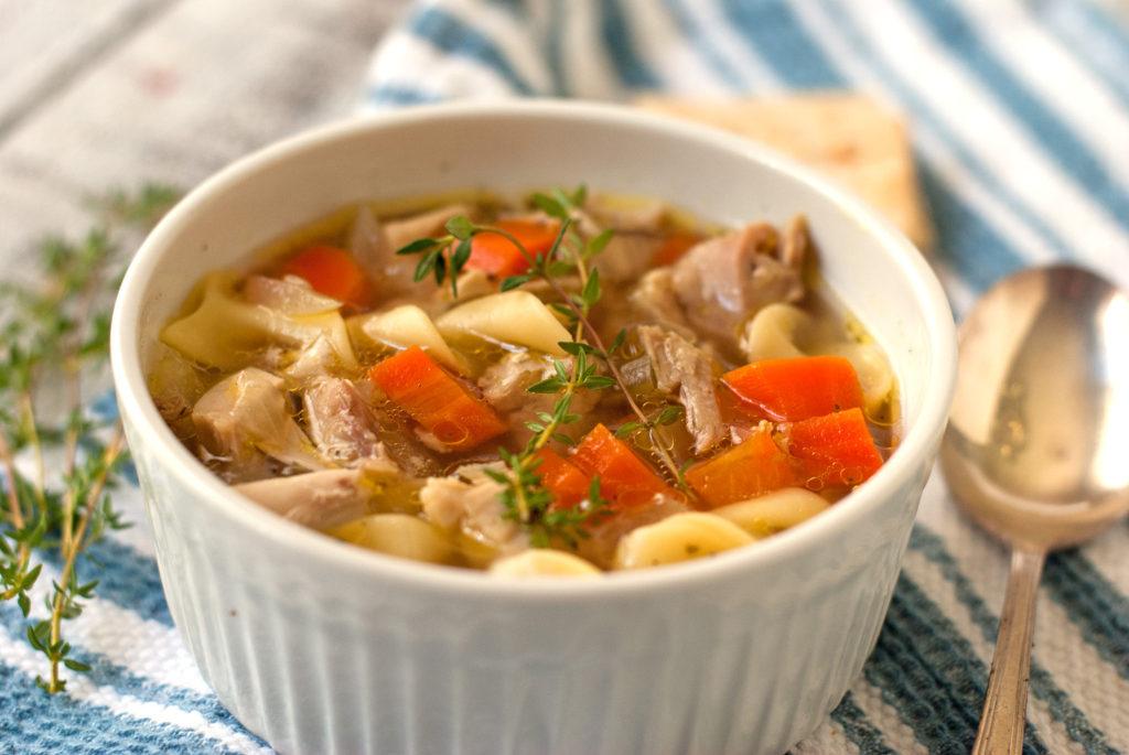 Heartbreak and Chicken Noodle Soup