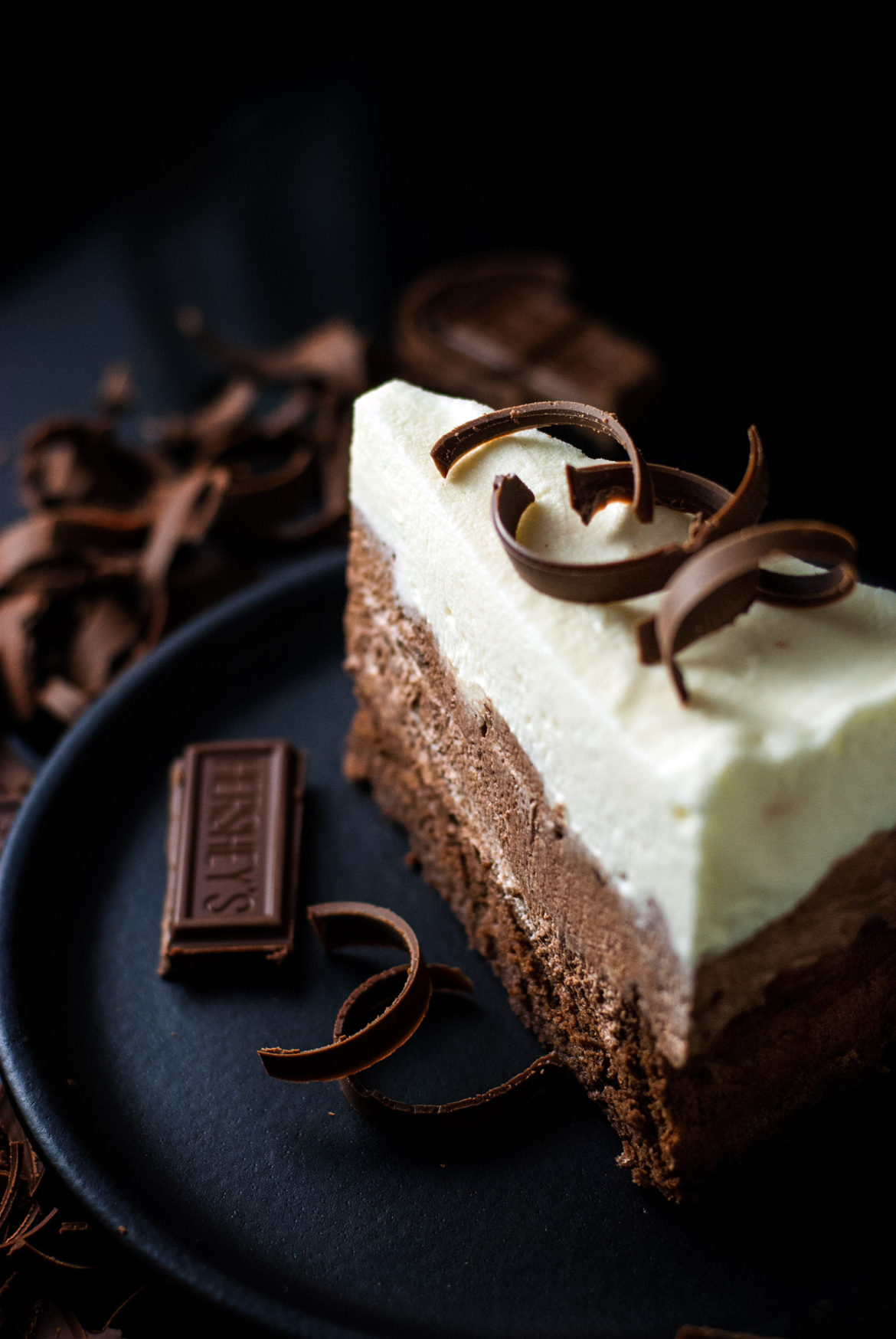 Triple Chocolate Mousse Cake – Cookies for England