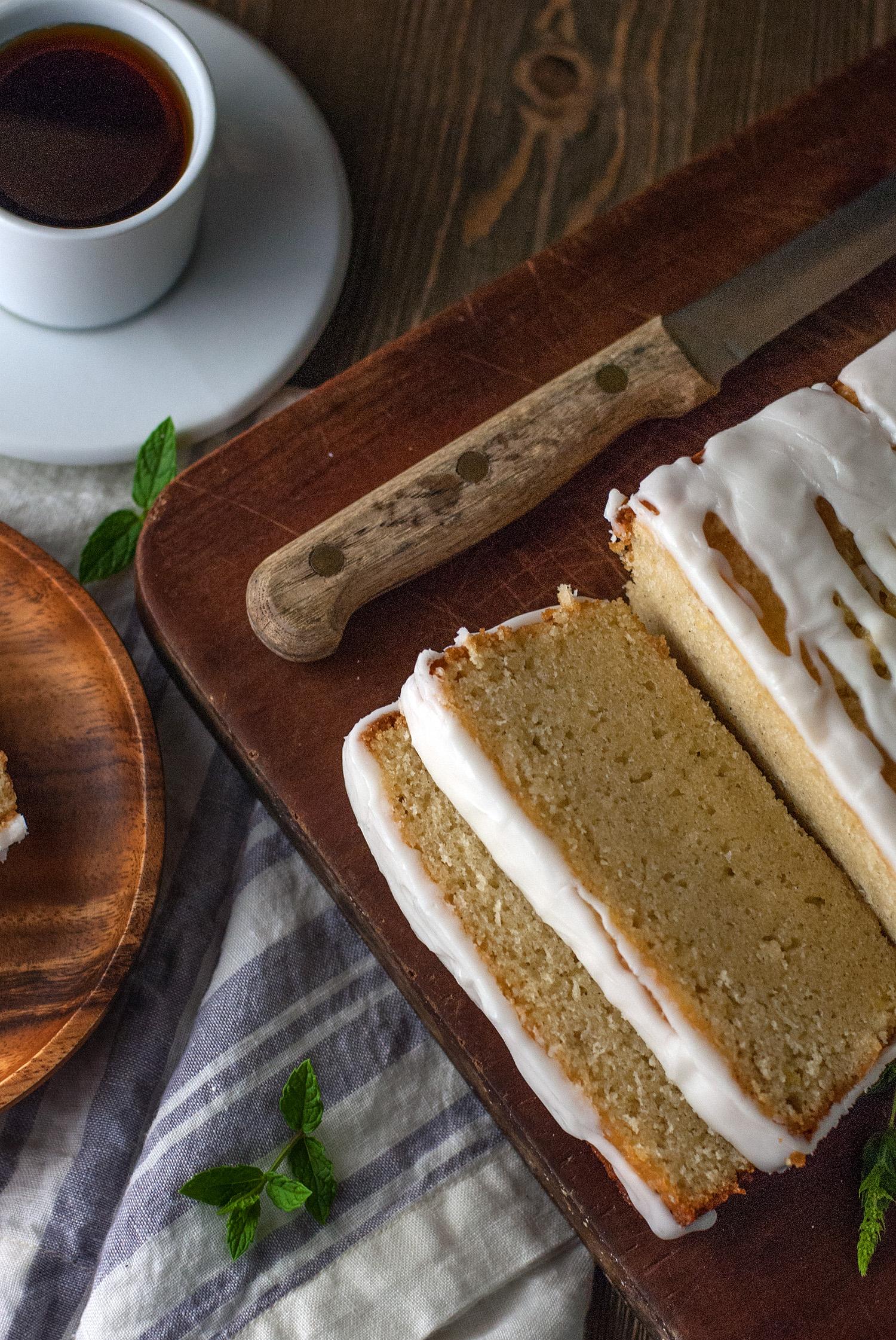 Lemon Cardamom Pound Cake