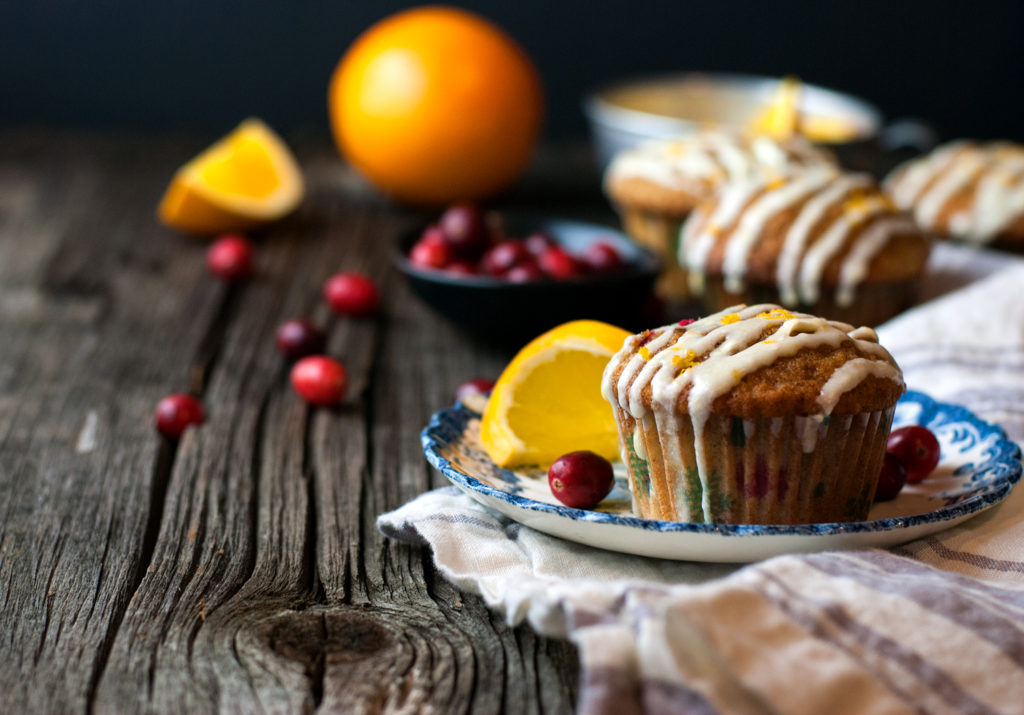 Cranberry Orange Spice Muffins
