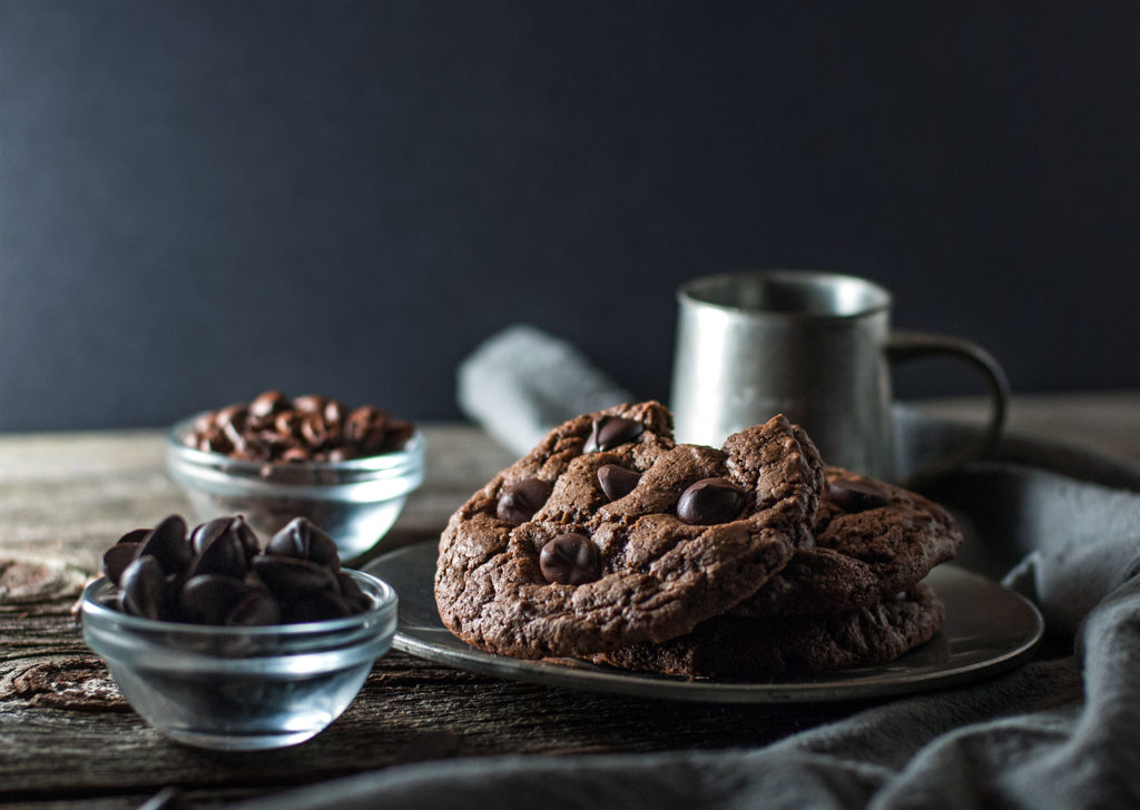 Espresso Chip Cookies