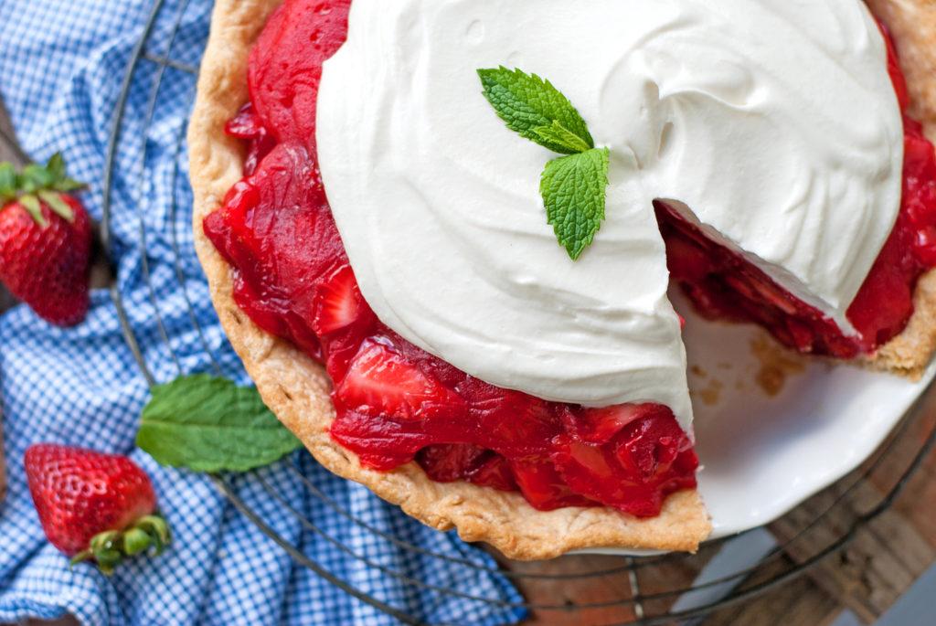 Sweet Strawberry Pie