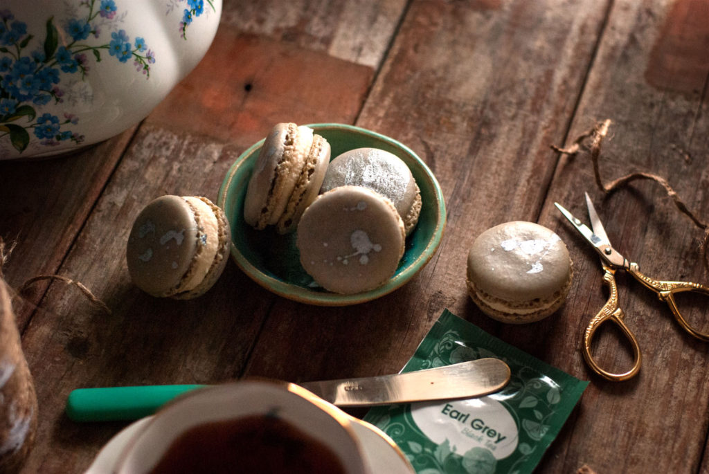 Earl Grey French Macarons