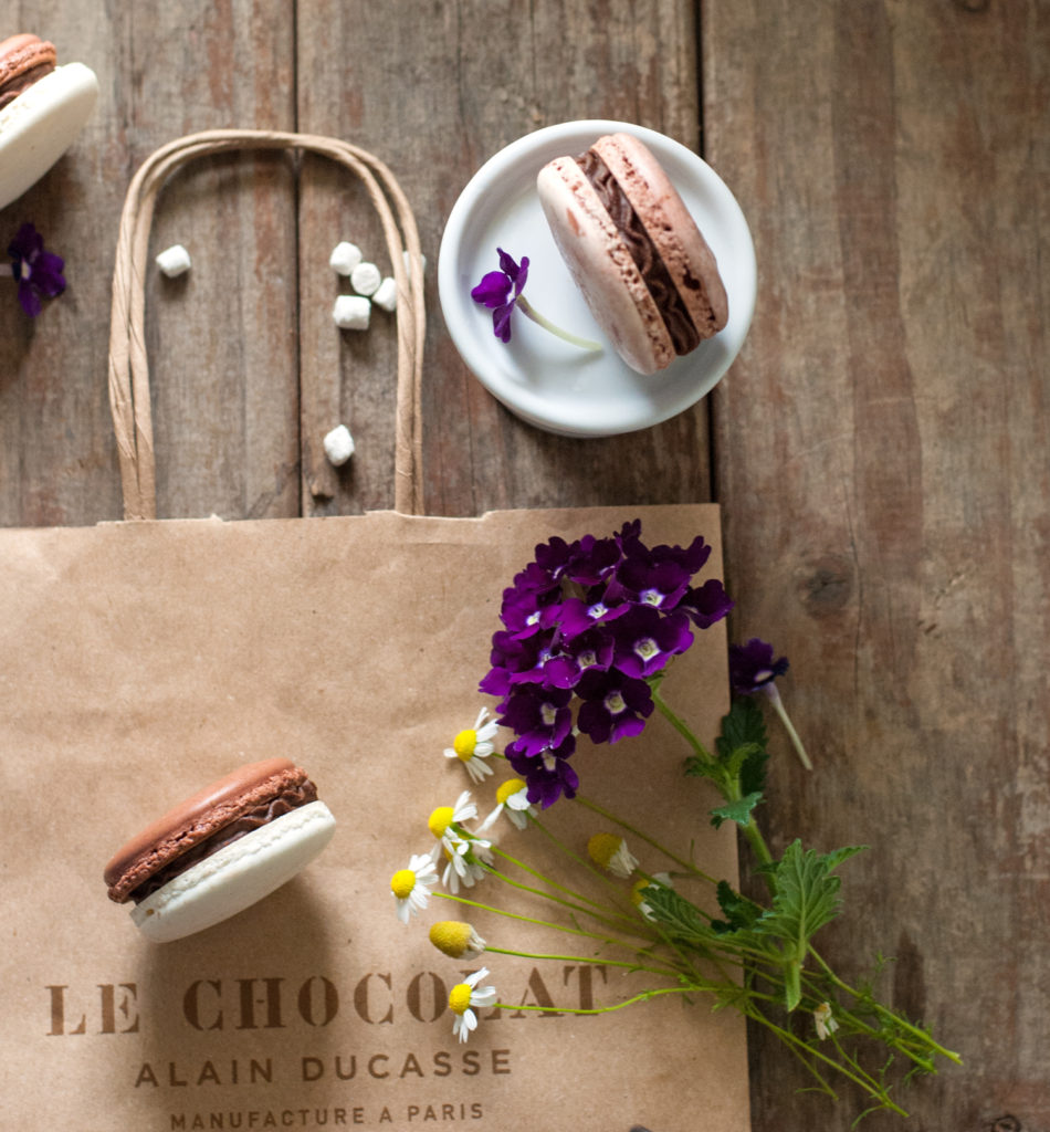 Hot Chocolate French Macarons